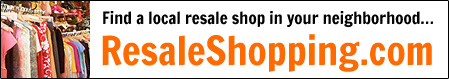 Find a local resale shop in your neighborhood